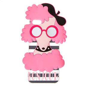 Pink Poodle Phone Case,