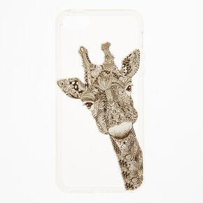 Doodle Giraffe Phone Case,
