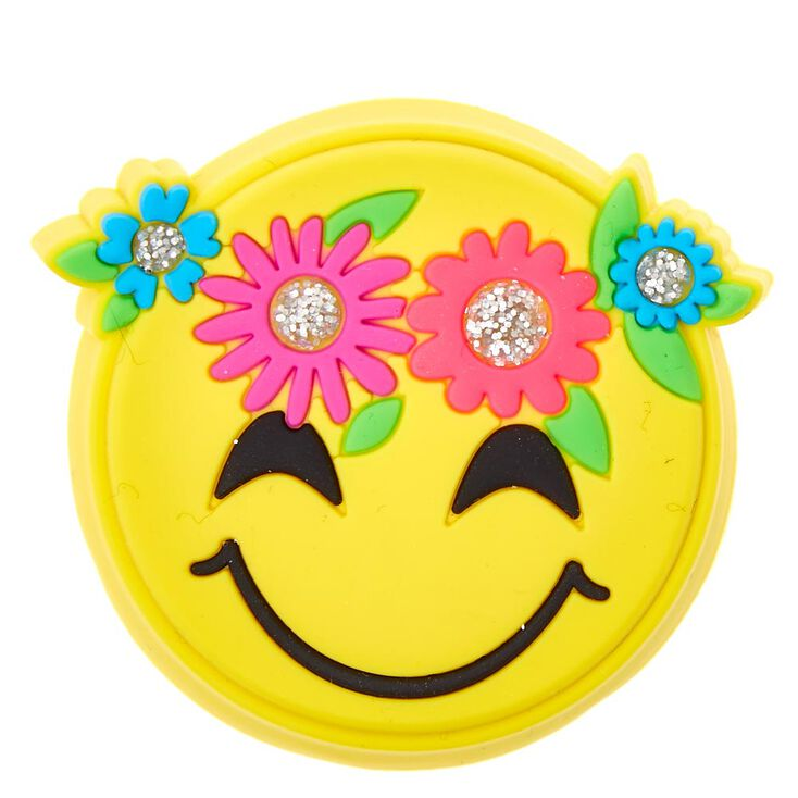 Happy Face Flower Cake