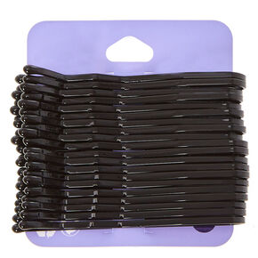 Thick Black Bobby Pins,