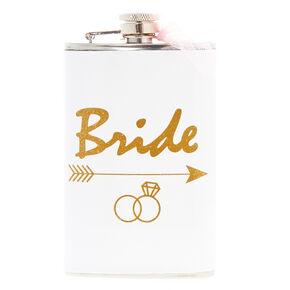 White Bride Flask,