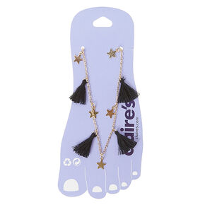 Stars and Tassels Anklet Bracelet,