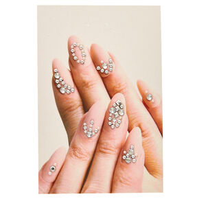 Abstract Nail Gems,