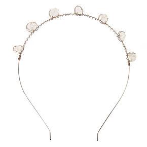 Crystal Stone Crown Headband,