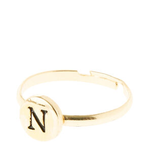 N Initial Letter Ring,