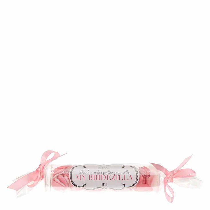 Pink Heart Bath Confetti,