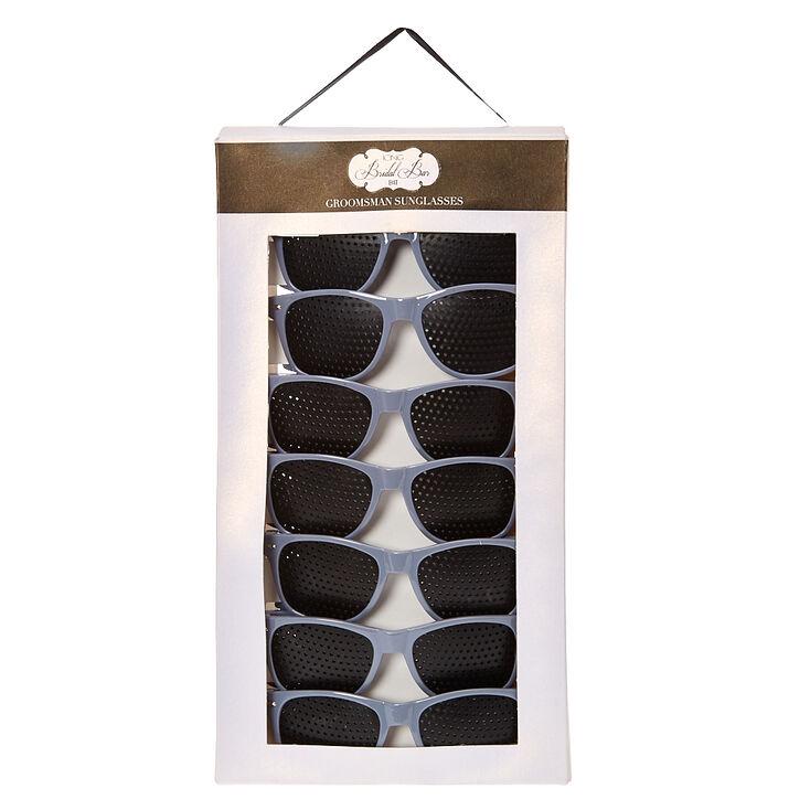 Gray Bachelor Sunglasses,