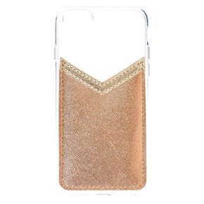Rose Gold Pocket Phone Case,