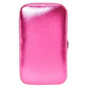 Metallic Hot Pink Manicure Kit,