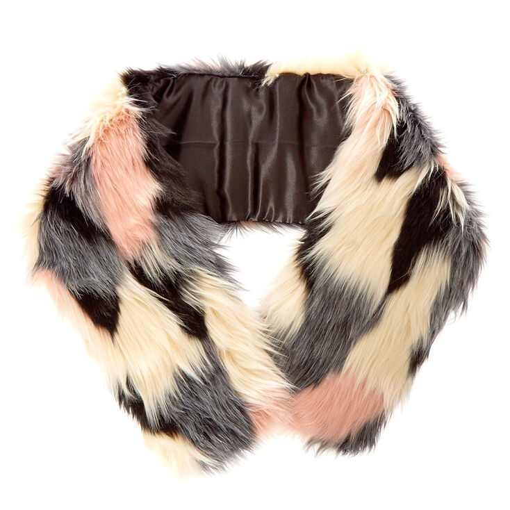 Chanelle Faux Fur Stole,