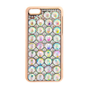Iridescent Crystal Gems Phone Case,