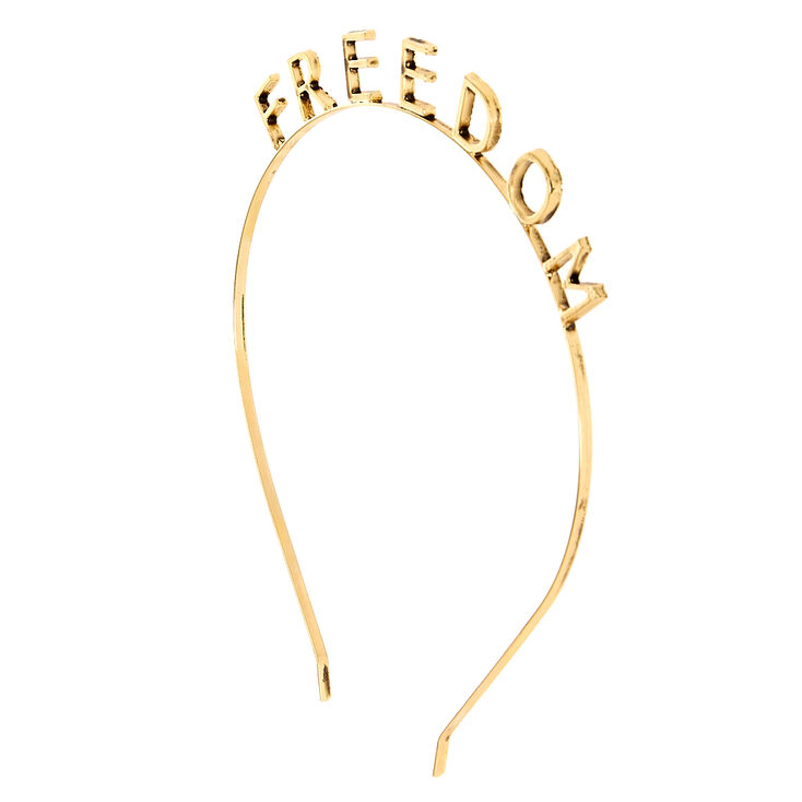 Gold Freedom Headband,