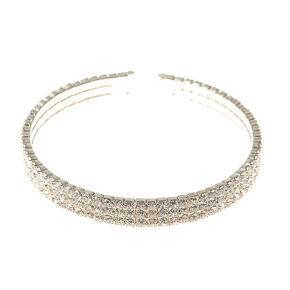 Silvery Gem Cuff Bracelet,