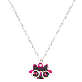 Meow Cat Pendant Necklace,