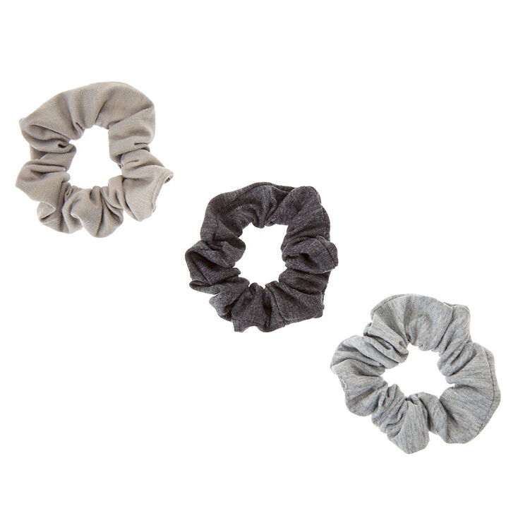 Grey All Day Hair Scrunchies,