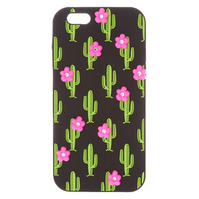 Cactus With Pink Flowers Phone Case,