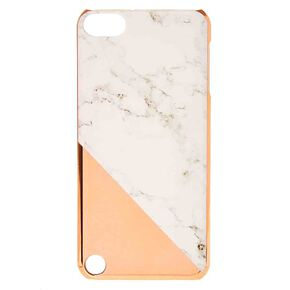 Rose Gold and Marble iPod® Case,