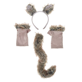 3 Piece Wolf Costume Kit,