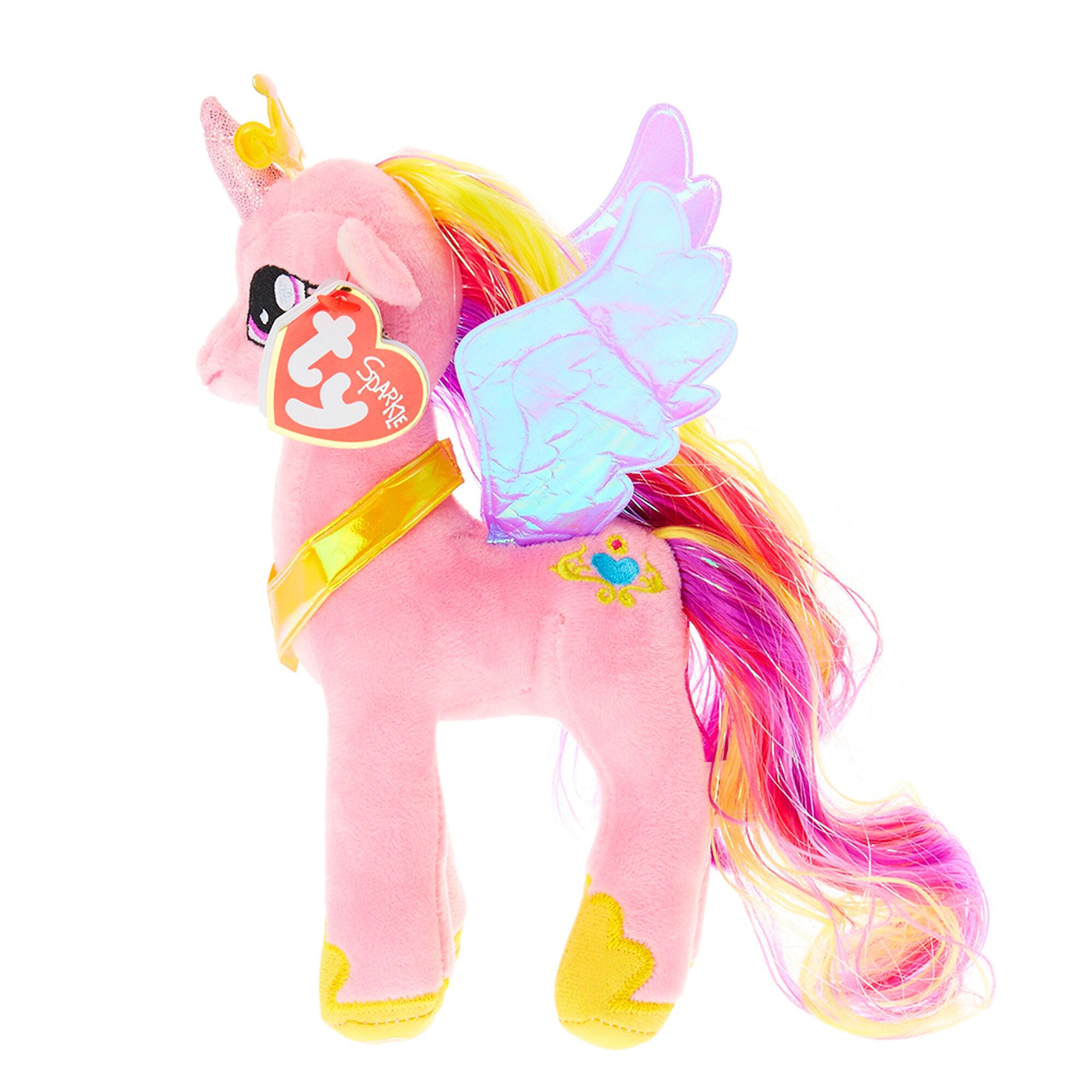 ty my little pony small princess cadance soft toy