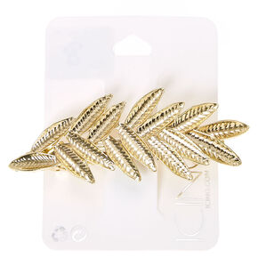 Gold Leaves Hair Clip,