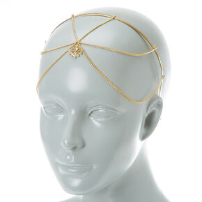 Pretty Gold Head Chain,