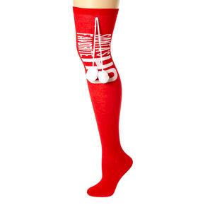 Santa's Favorite Ho Knee High Socks,