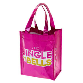 Small Holiday Reusable Tote Bag,