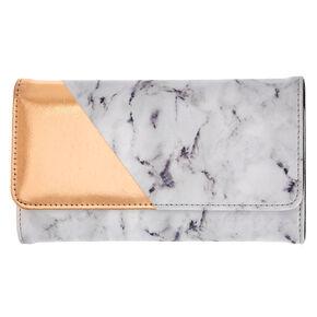 Marble Print Tech Wallet,