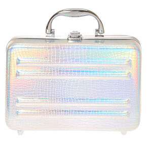 claire 39 s makeup box. holographic case makeup set claire 39 s box