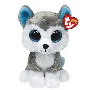 TY Beanie Boos Medium Slush the Husky Plush Toy,