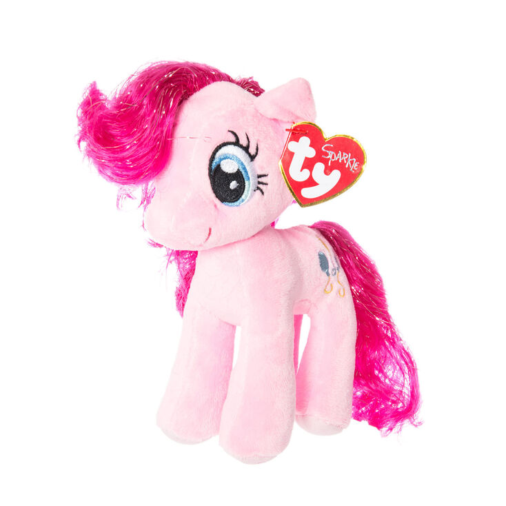 ty my little pony small pinkie pie soft toy