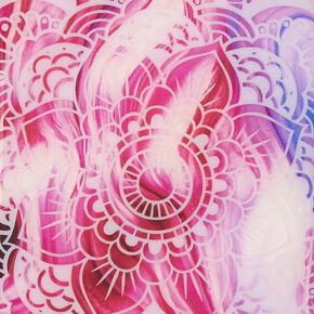 Pink Marbled Mandala Phone Case,