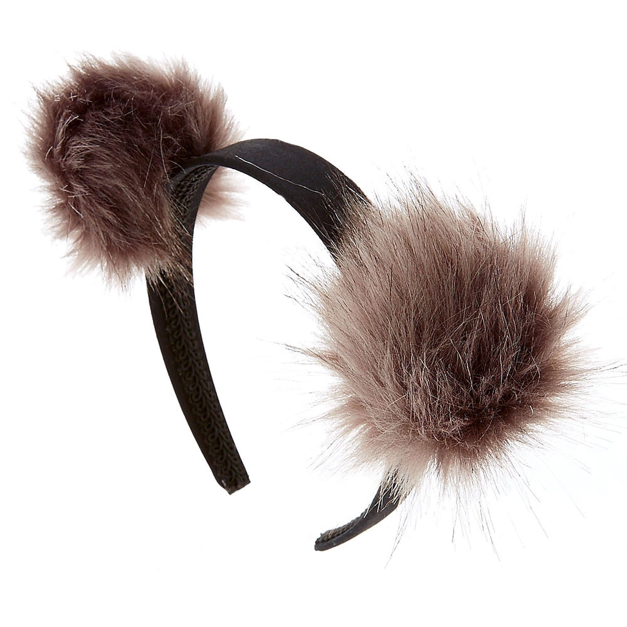 silver pom pom headband s us