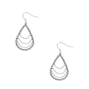 Tear Drop Link Earrings,