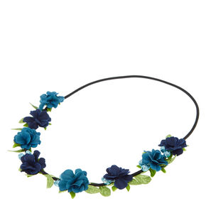 Blue Goddess Head wrap,