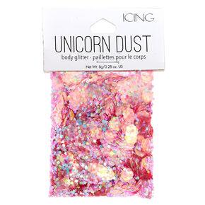 Pink Unicorn Dust Glitter Pouch,