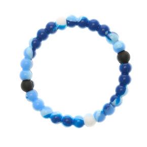 Blue Marble Fortune Bracelet,