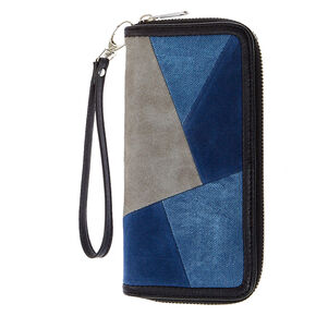 Denim Patchwork Purse,