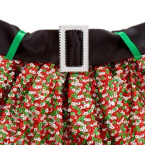 Green & Red Sequin Tutu,