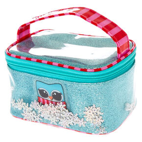 Snowflake the Owl Cosmetic Case,