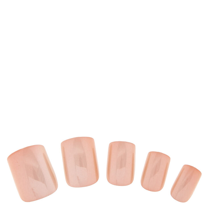 Nude Chrome Fake Nails at Icing in Victor, NY | Tuggl