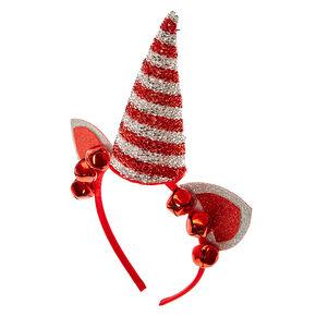 Christmas Unicorn Horn Headband,