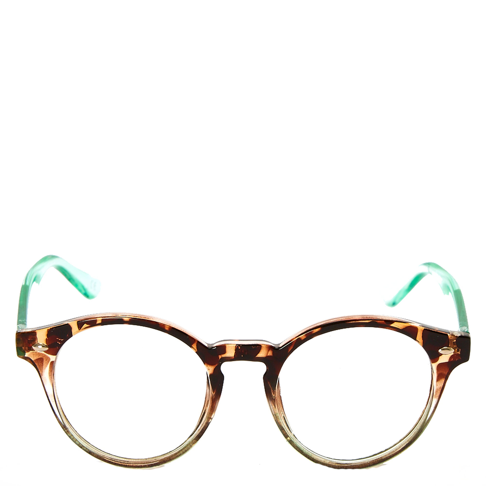 tortoise shell and mint round frames - Mint Picture Frames