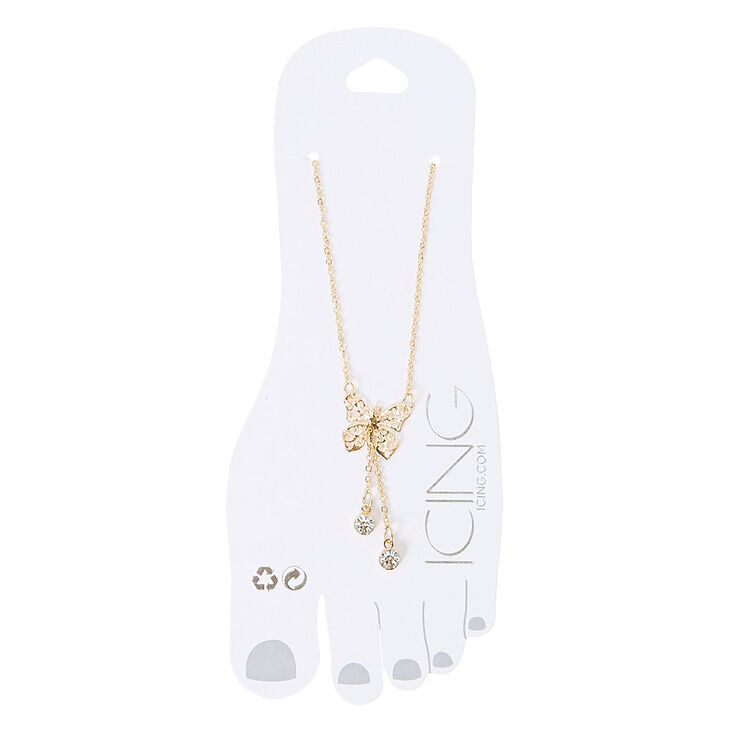 Butterfly Charm Anklet,