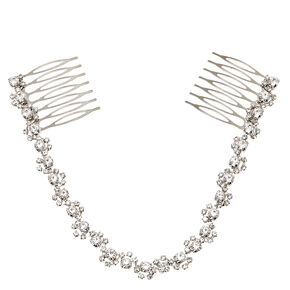 Faux Crystal Chain Hair  Swag Comb,
