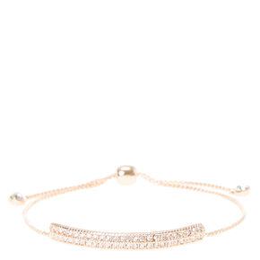 Blush Colored Adjustable Bracelet,