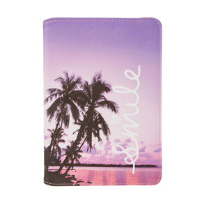Palm Tree Smile Tablet Cover,