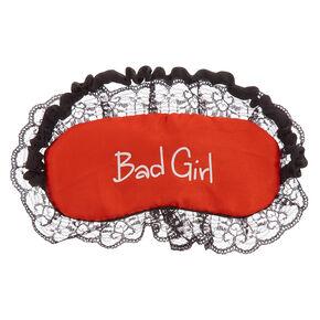 Reversible Good + Bad Sleep Mask,
