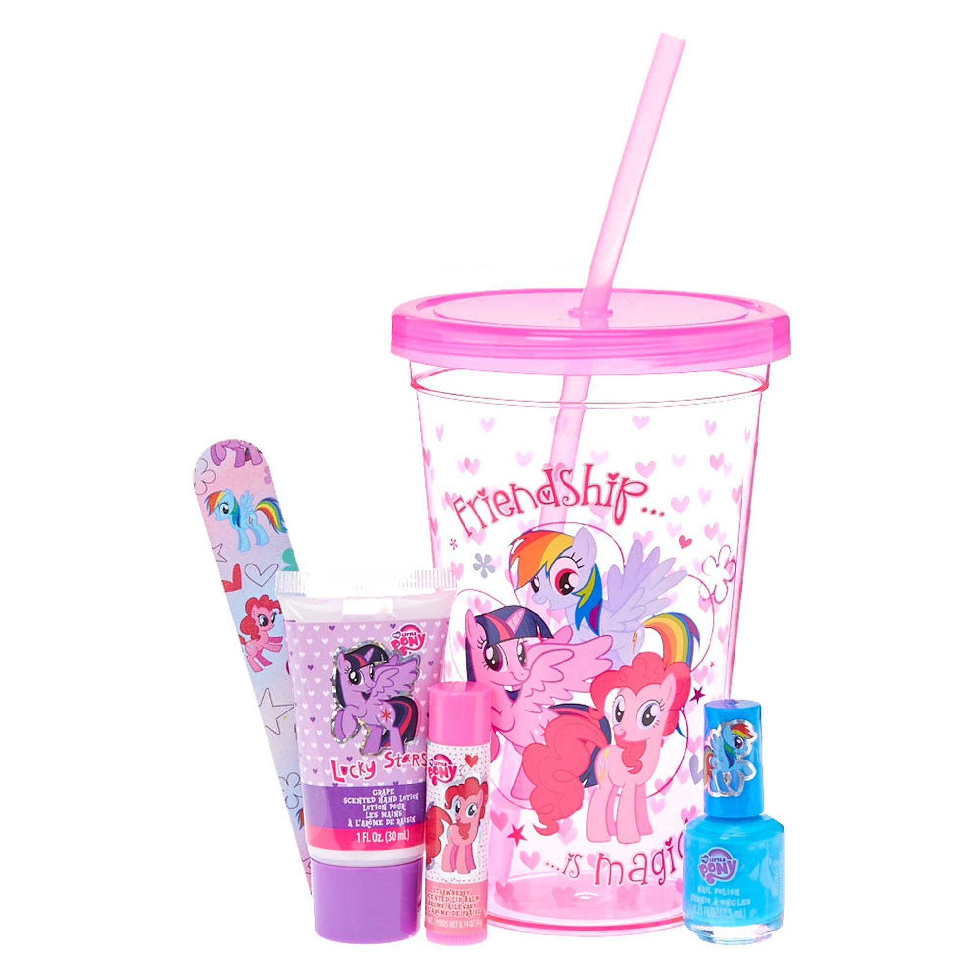 My little pony cosmetics tumbler gift set claire s us