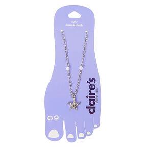 Starfish Ankle Bracelet,
